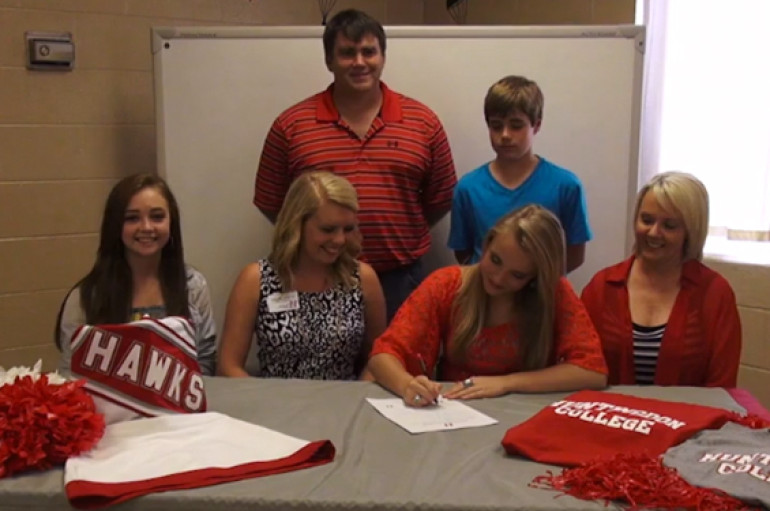 Fyffe's Cochran Signs with Huntingdon College