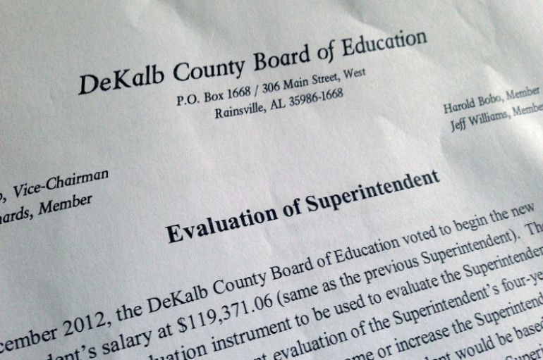 The Board Presents Their Evaluation