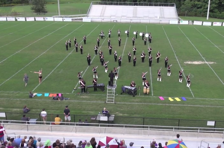 Crossville High School Marching Band Exhibition