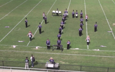 Geraldine High School Marching Band Exhibition