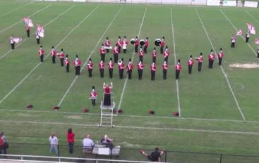 Fyffe High School Marching Band Exhibition