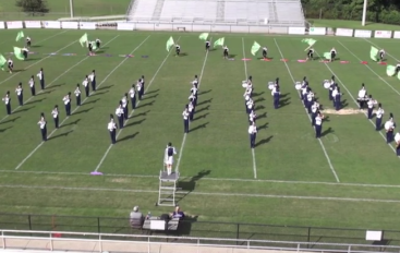 Plainview High School Marching Band Exhibition