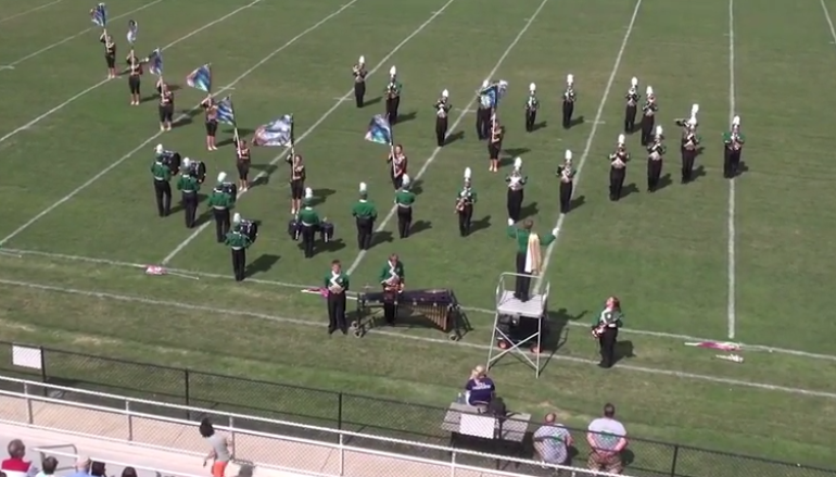 Sylvania High School Marching Band Exhibition
