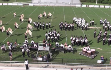 Fort Payne High School Marching Band Exhibition