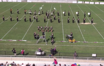 Ider High School Marching Band Exhibition
