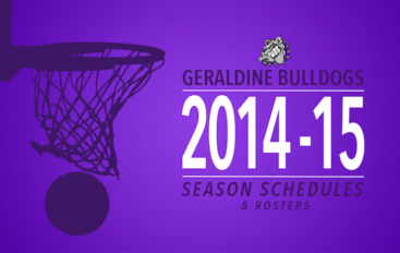 Geraldine Bulldogs Basketball 2014-2015