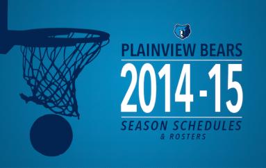 Plainview Bears Basketball 2014-2015