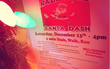 Rainsville Santa Dash Just Around the Corner