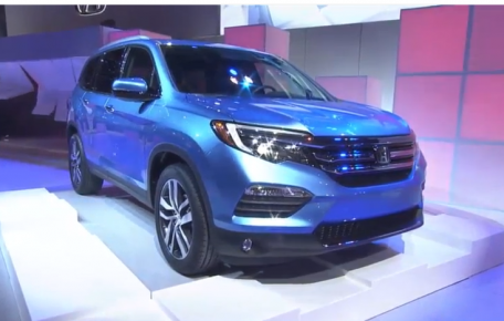 honda debuts redesigned alabama made pilot at chicago auto show southern torch. Black Bedroom Furniture Sets. Home Design Ideas