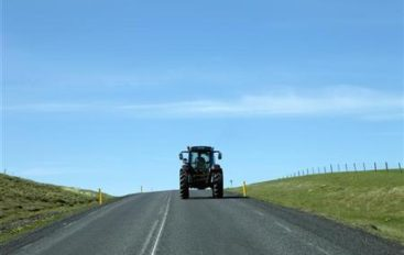 KEEP ROAD SAFETY IN MIND DURING PLANTING SEASON