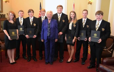 "The ""Fort Payne Seven"" takes State Title at Real World Design Challenge"