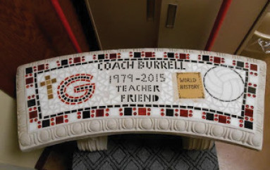 In memory of Coach Burrell