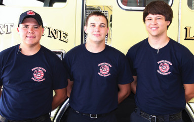 Fort Payne welcomes three new members to Fire Department
