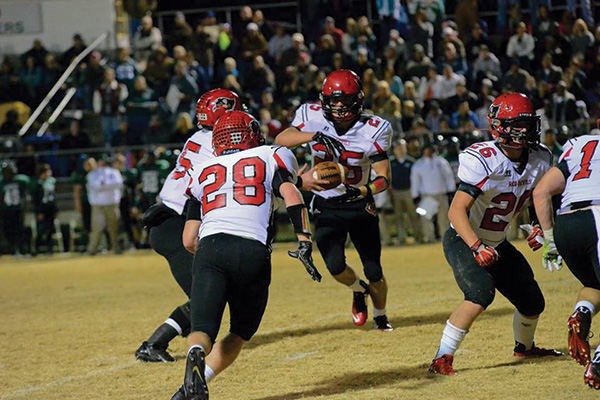 Fyffe's Stiefel signs scholarship with Berry