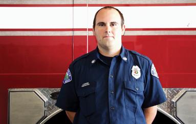 New fireman joins Rainsville Fire Department