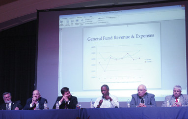 Education dominates talk at Fort Payne Tax Forum
