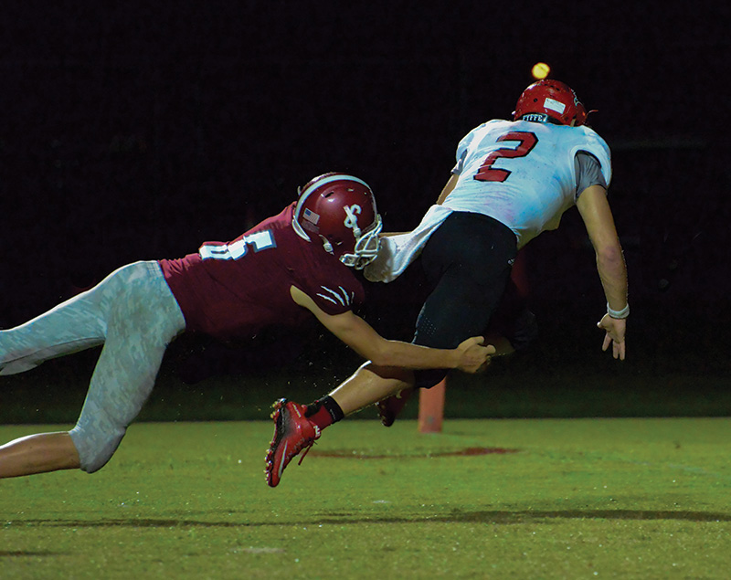 Fyffe gets back to dominating