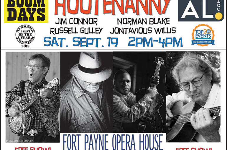 Fort Payne Boom Days to host traditional music Hootenanny