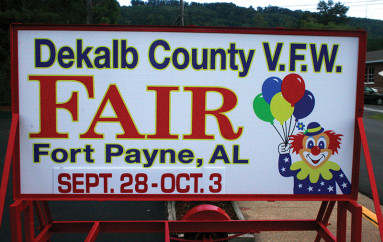 DeKalb County V.F.W. Agricultural Fair kicks off next week