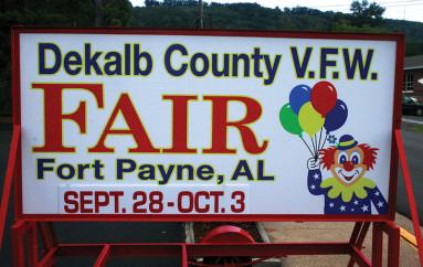 DeKalb County V.F.W. Agricultural Fair kicks off next week