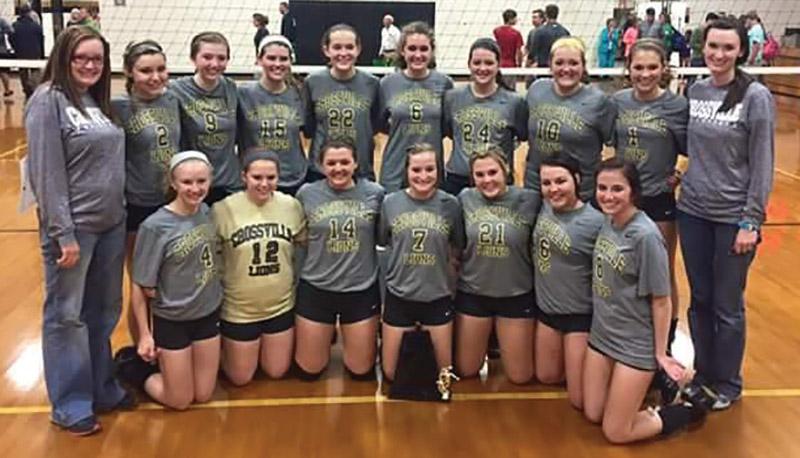 Crossville Volleyball (Class 4A, Area 12)