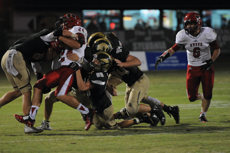Fyffe takes down Sylvania