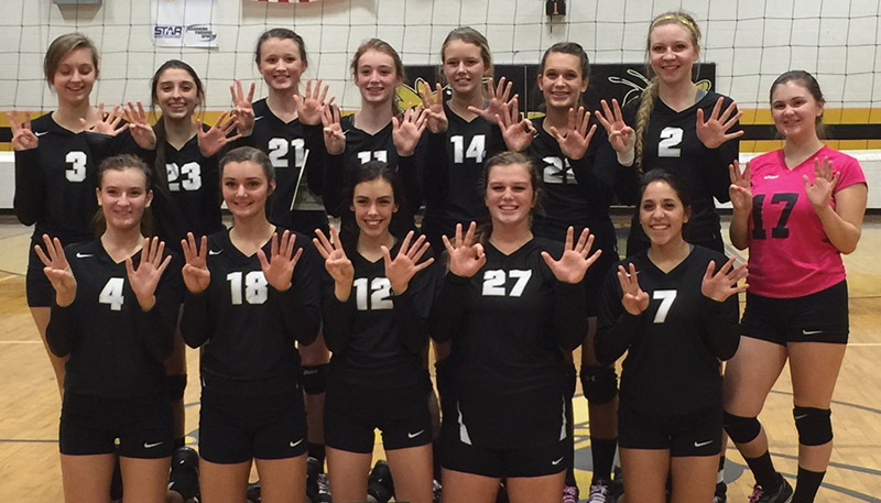 Ider (2A Area) volleyball area champs for 8th year in a row