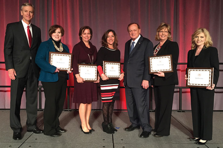 Five NACC Employees Recognized at Chancellor's Awards Ceremony