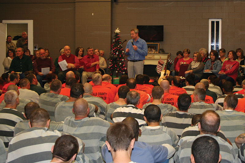 DeKalb County Detention Center shares Christmas with inmates