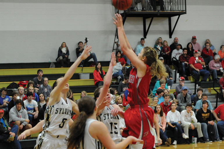 Lady Rams fall to the Eagles