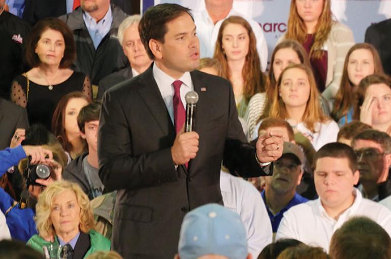 Marco Rubio holds Guntersville Rally