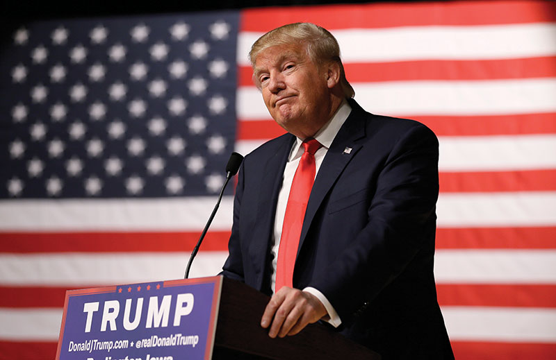 Trump Announces TV Ad Blitz to Start the New Year