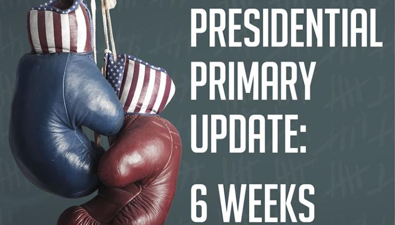 2016 Presidential Primary Update: 6 Weeks Until Iowa
