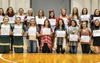 All County Cheerleaders