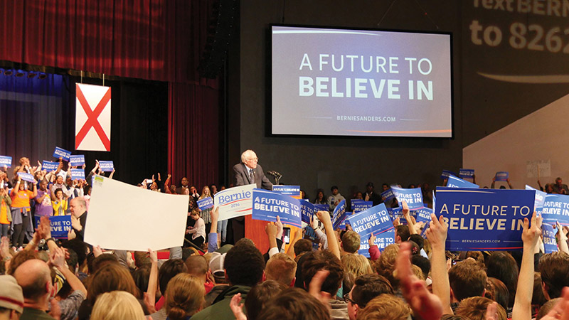 Bernie Sanders visits Magic City