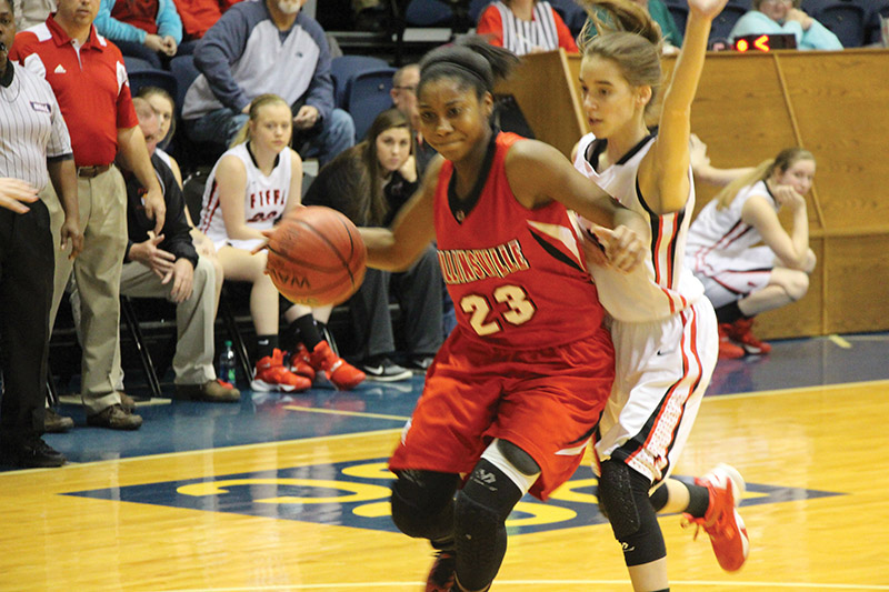 Collinsville Lady Panthers burn the Devils