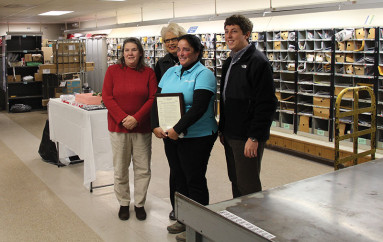 Mail Carrier Honored