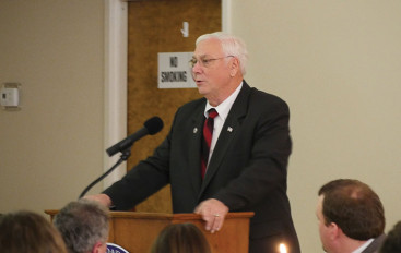 Stiefel honored at Rainsville Chamber banquet