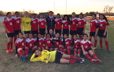 Collinsville Lady Panthers cause Soccer Fever