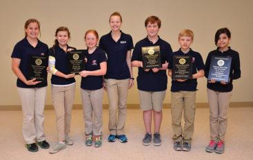 Cornerstone students honored