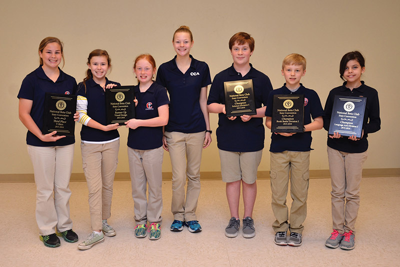 Cornerstone students honored