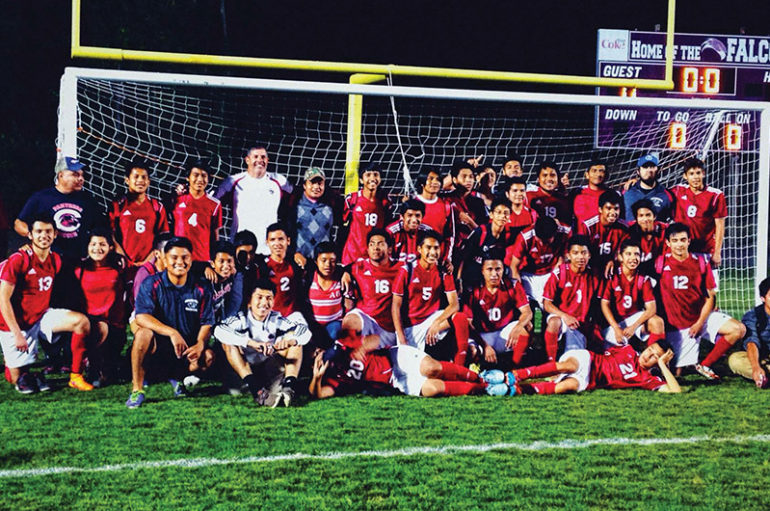 Collinsville wins Soccer Title