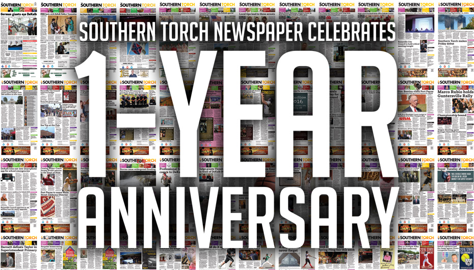 Southern Torch Newspaper celebrates 1-year anniversary