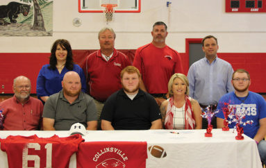 Collinsville Panther signs Letter of Intent