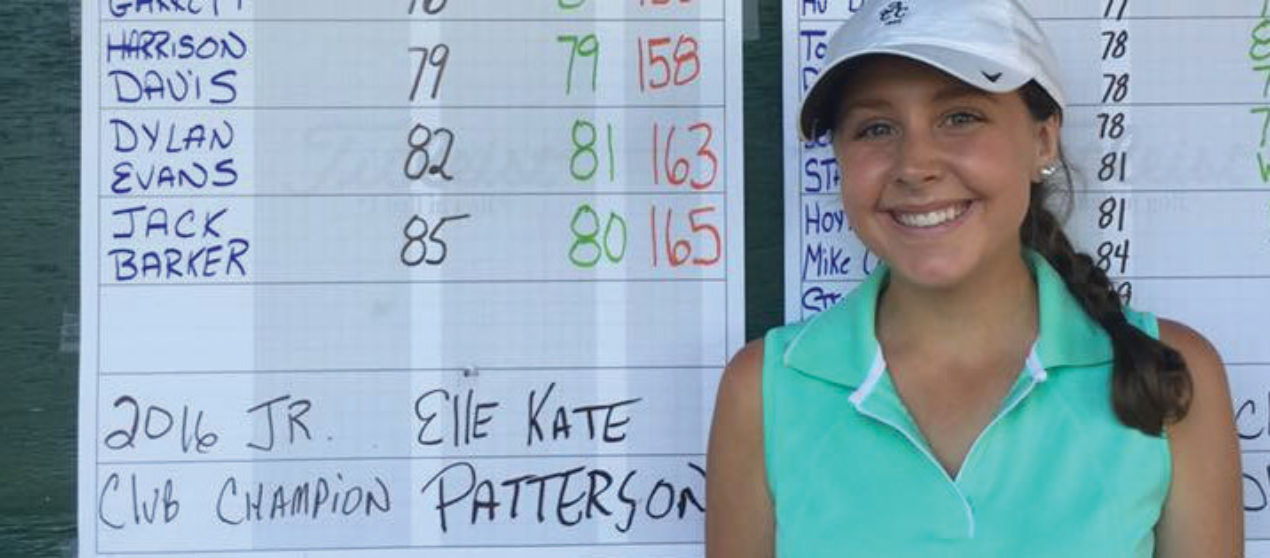 Patterson is new Terrapin Junior Champion