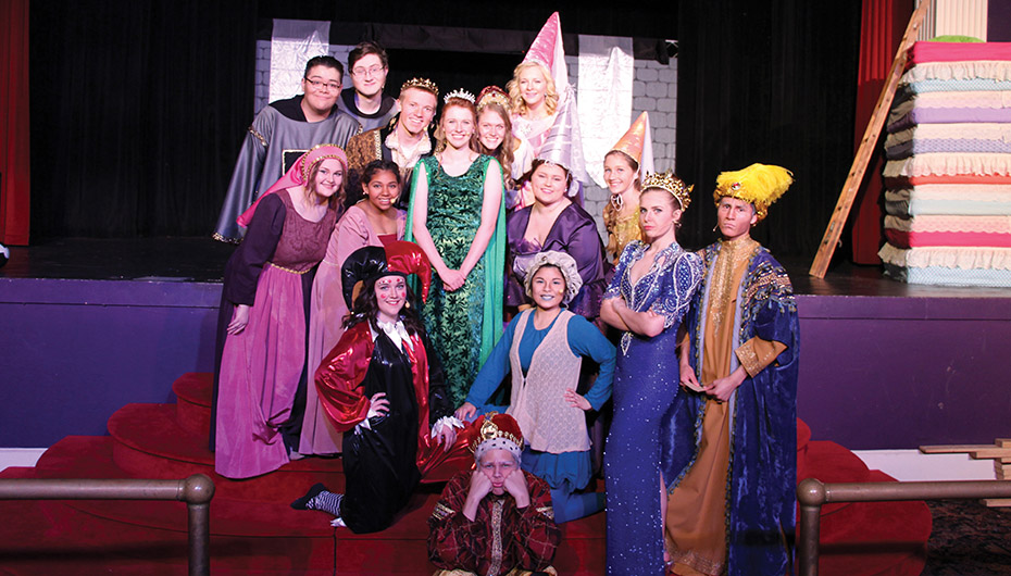 "Plainview Bear Theatre presents ""Once Upon a Mattress"" this weekend"