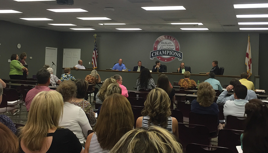 "DeKalb BOE prepares for Alabama's implementation of ""virtual"" schools"