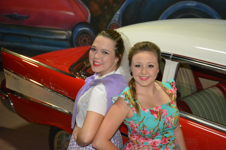 Young ladies from Mentone, Rainsville take the stage