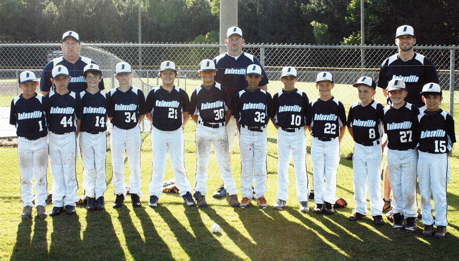 The Rainsville 9 & 10 year old All-Stars