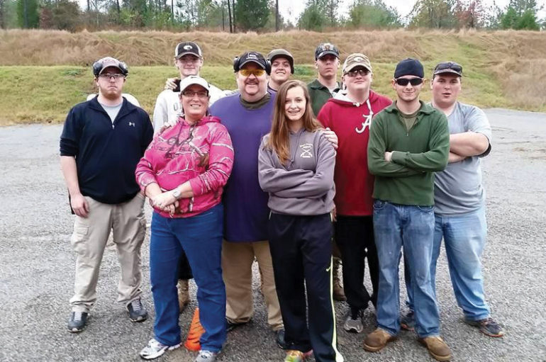 Fort Payne Steel Shooters safely have a blast